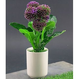 Orchard Green Synthetic Cloth Artificial Flowers