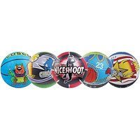 Cosco Multi Graphics Basketball - Size 3 (Multicolor) At Lowest Price.