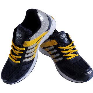 fd4e3b0dc1e3d Buy Lancer Cuba Navy Blue Yellow Stylish Sport Shoes For Men Online ...