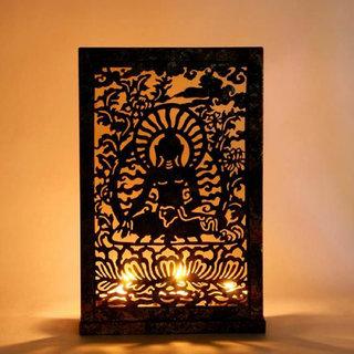Buddha Screen T Light Holder