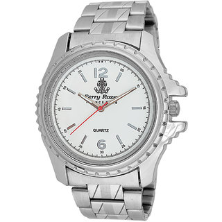 Ferry Rozer White Dial Analog Watch For Men (FR1019)