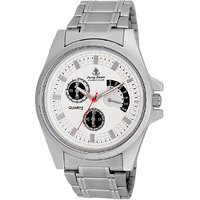 Ferry Rozer White Dial Analog Watch For Men (FR1017)