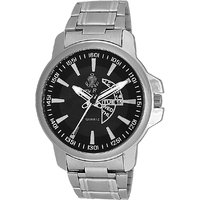 Ferry Rozer Black Dial Analog Watch For Men (FR1027)