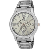 Ferry Rozer Silver Dial Analog Watch For Men (FR1028)