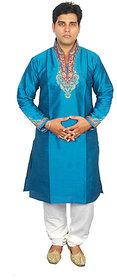 Anjaneya Mens Designer Turquoise Sherwani