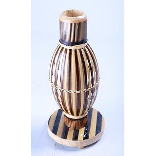 Bamboo Globe Flower Vase