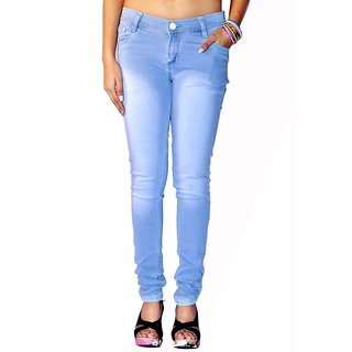 Las Jeans Sky Blue Colour