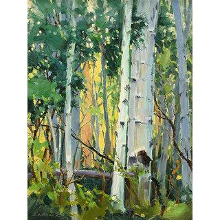Vitalwalls Landscape Canvas Art Print On Pure Wooden Framelandscape-625-F-30Cm)