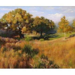 Vitalwalls Landscape Canvas Art Print On Pure Wooden Framelandscape-628-F-30Cm)
