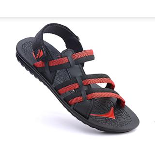 8301e564721d Buy Vkc Men s Red Velcro Sandals Online   ₹328 from ShopClues