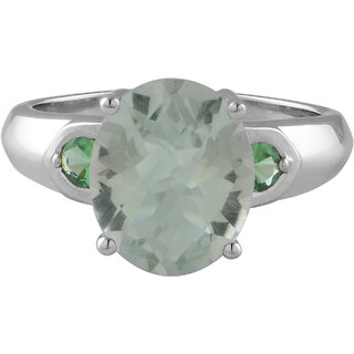 Allure Jewellery 925 Sterling Silver tsavorite and g.amethyst
