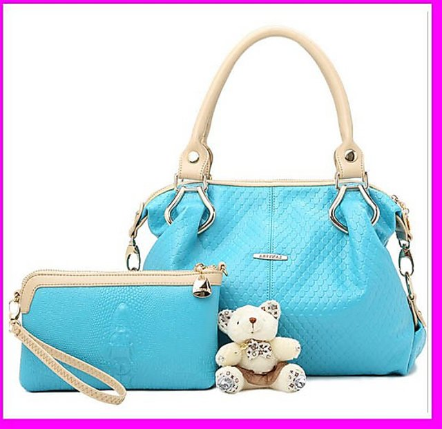 Cheap price 2pcs hot fashion ladies new model purses and ladies handbags e0761b02ec776