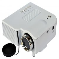 ZAKK UC-28 Portable High Quality Mini Office Home Projector (White)