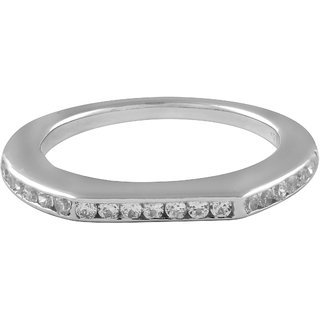 Allure Jewellery 925 Sterling Silver ring studded with Cz