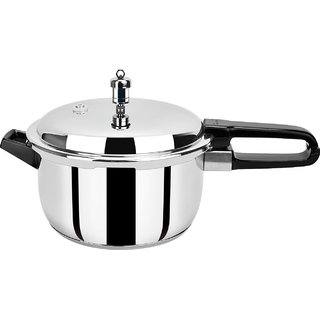 PRISTINE Induction Base Stainless Steel Pressure Cooker  5L
