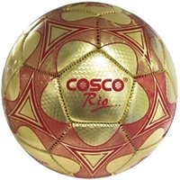 Cosco Rio Football - Size 3 (Golden Red) At Lowest Price.