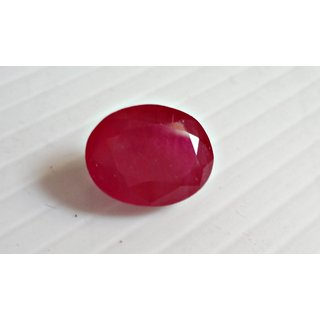 Ruby -real manik Ruby gemstone burma 6.5 carate