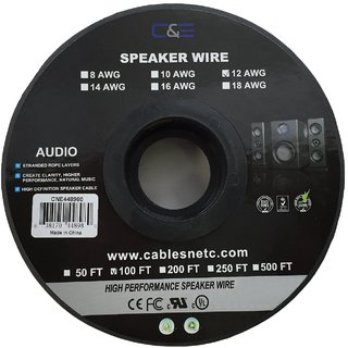 Ce 100 feet 12awg speaker wire cable buy ce 100 feet 12awg ce 100 feet 12awg speaker wire cable greentooth