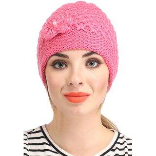 Multicolour Woolen Cap for Ladies