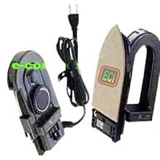CROWN Best Foldable Travel Iron Dry Press Box Temperature Control Knob, Nonstick