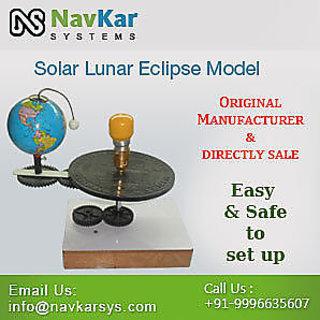 Solar Amp Lunar Eclipse Model Motorised Solar