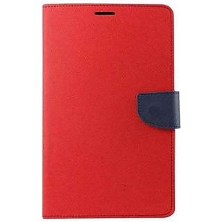 Mercury Flip Cover For redmi note red