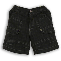 Lilliput Casual Checkered Flaps Shorts (8907264051439)