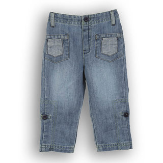Lilliput Casual Solid Denim Trouser (8903822294607)