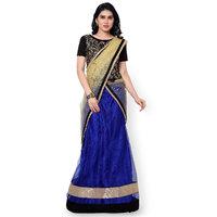 Fabliva New Designer Blue Colour Lehenga Choli