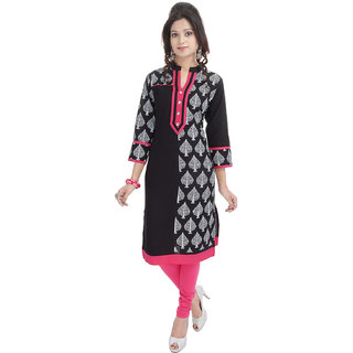 Beautiful  Pink Cotton Kurti From the House of PALAKH