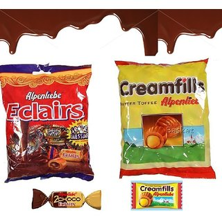 Alpenliebe Eclairs and Creamfills Pouches (Pack of 2)