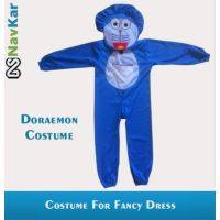 Doraemon Fancy Costume Outfit Suit Fancy Dress For Kids Small Size 4 - 7 Years
