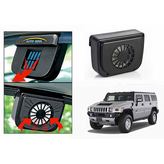 Auto Cool Car Solar Powered Side Window Cooling Fan-Hummer H2