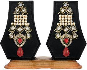 Zaveri Pearls Traditional Dangle Dangle&Drop Earrings