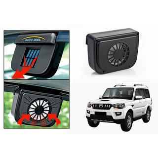 Auto Cool Car Solar Powered Side Window Cooling Fan-Mahindra Scorpio