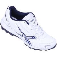 Orbit Mens White Running Shoes