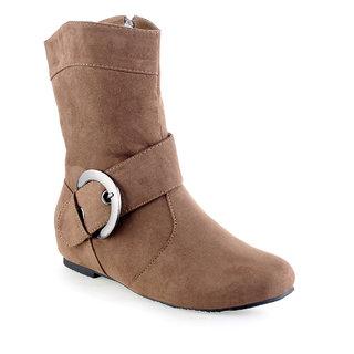 Shuz Touch Cheeku Boots (Lf-I-A6091-4-Cheeku)