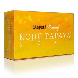 Royale Beauty Kojic Papaya Soap (120g)