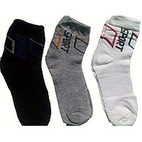 Sports Socks 3 Pair