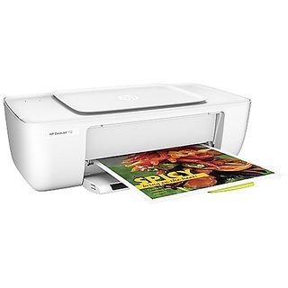 HP DeskJet 1112 Printer Single Function Inkjet Printer  White