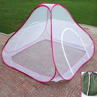 Story@Home Double Bed foldable Mosquito Net Pink-MOS101