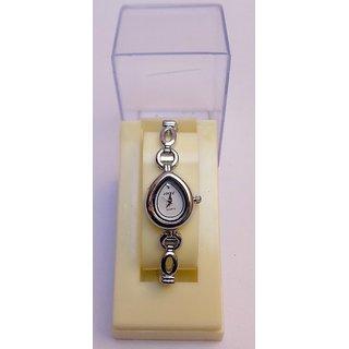 White Designer Dial Formal Ladies Watch