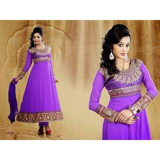 designer anarkali salwar  kameez dress material (Unstitched)