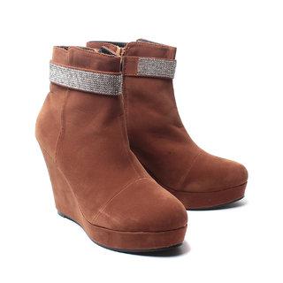 Nell Ladies Tan Footwear (523-4-Tan-01)