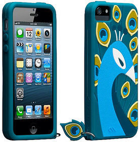 CaseMate Creatures Case for IPhone 5 Blue/Teal CM022879