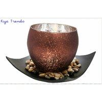 Kiya Trends Classy Brown LED Battery Floor Lamp