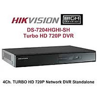 Hikvision HDTVI Turbo 720P DVR 4 Channel DS-7204HGHI-SH