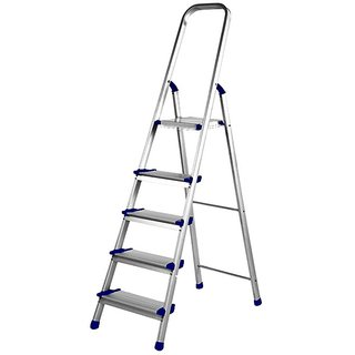 S4D Dolphin Aluminium Folding Ladder Pro 4 Steps