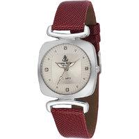 Ferry Rozer Silver Dial Round Shape Wrist Watch For Wom