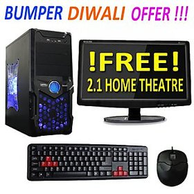 DIWALI OFFER!!! DESKTOP COMPUTER With 15 Inch Led And New Core I5/4Gb/320Gb without Dvd Writer
